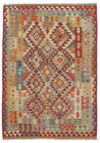 Kelim Afghan Old Style Matto 125X175 Itämainen Käsinkudottu (Villa, Afganistan)