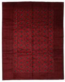 Beluch Matto 310X395 Itämainen Käsinsolmittu Musta/Tummanpunainen Isot (Villa, Afganistan)