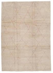 Moroccan Berber - Afghanistan Matto 243X341 Moderni Käsinsolmittu Vaaleanruskea/Ruskea (Villa, Afganistan)