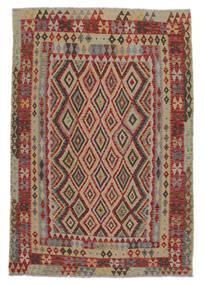 Kelim Afghan Old Style Matto 150X210 Itämainen Käsinkudottu (Villa, Afganistan)