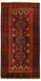 Beluch Matto 96X193 Itämainen Käsinsolmittu (Villa, Persia/Iran)
