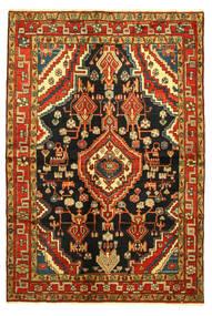 Hamadan Matto 138X203 Itämainen Käsinsolmittu (Villa, Persia/Iran)