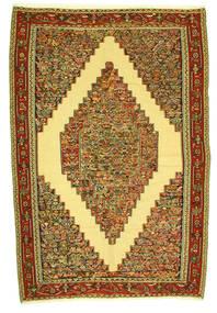 Kelim Senneh Matto 198X292 Itämainen Käsinkudottu (Villa, Persia/Iran)