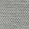 Kelim Honey Comb - Musta / Harmaa