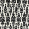 Kelim Long Stitch - Musta / Harmaa