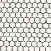 Kelim Honey Comb - Cream / Musta